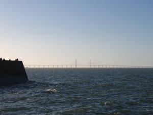 Öresundbrücke im Meer